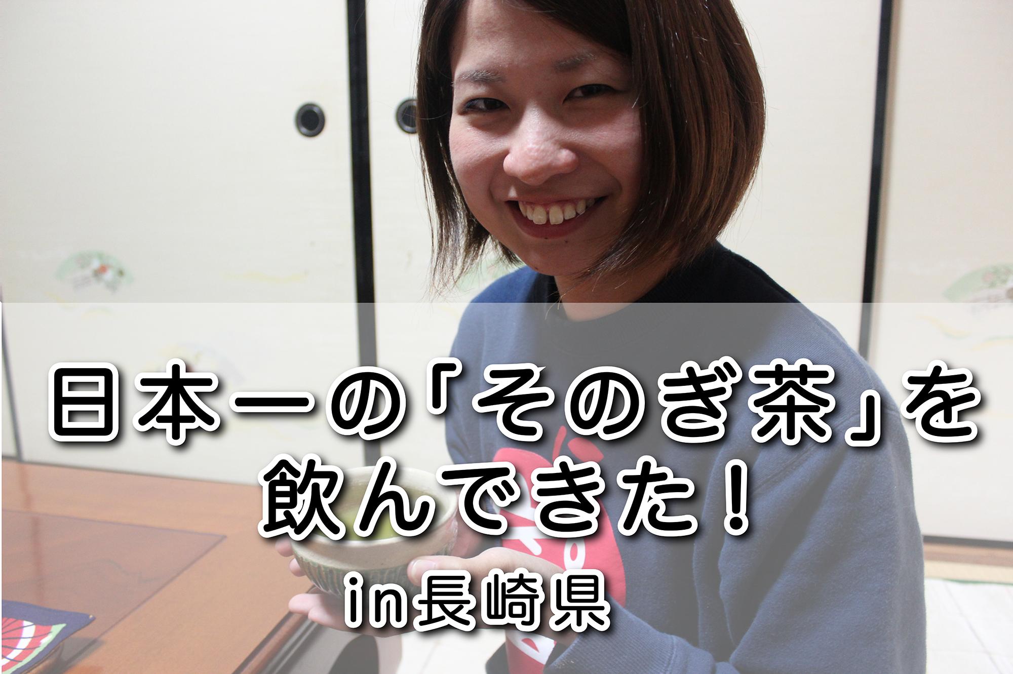 日本一のそのぎ茶を飲んできた|日本一周農家旅 しんごさんお茶畑&ハウス in 長崎県彼杵