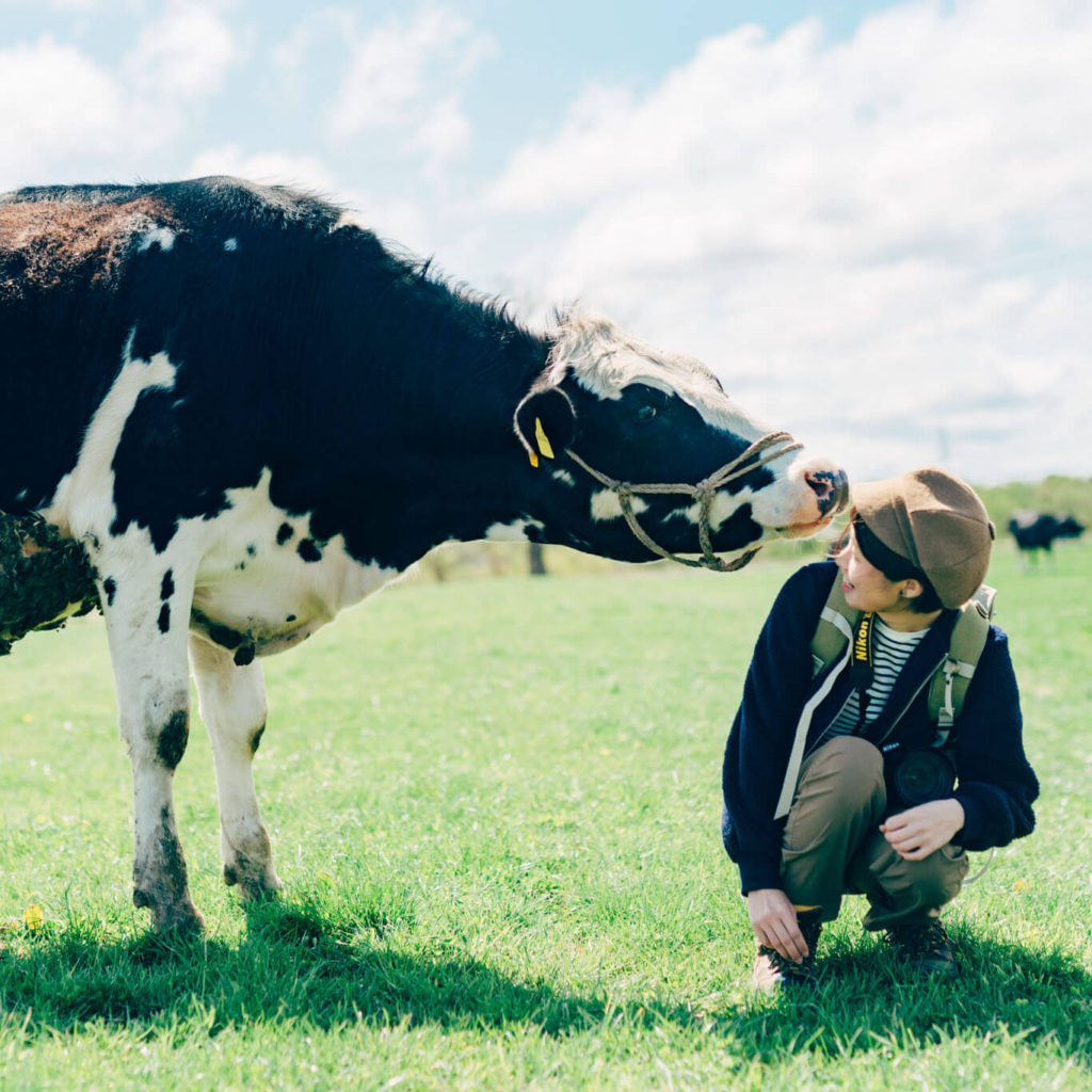 家畜写真家AKAPPLE